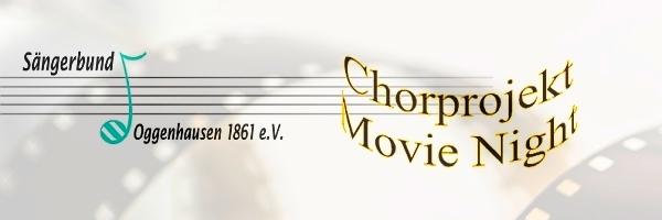 Chorprojekt Movie Night 2020 – Offene Chorprobe