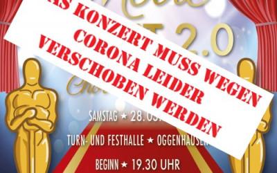 Konzert wird verschoben. Chor trifft Kino 2.0