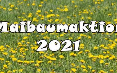 Maibaumaktion zum Start in den Wonnemonat.